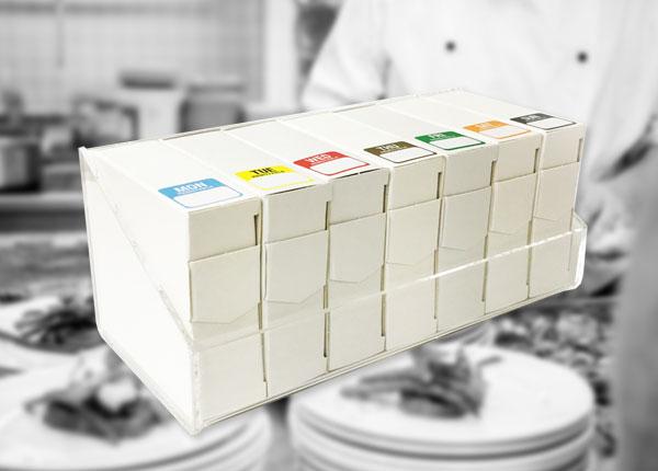 25mm Food Labels
