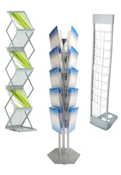 Brochure Display Units