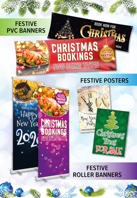 Christmas and New Year Advertising