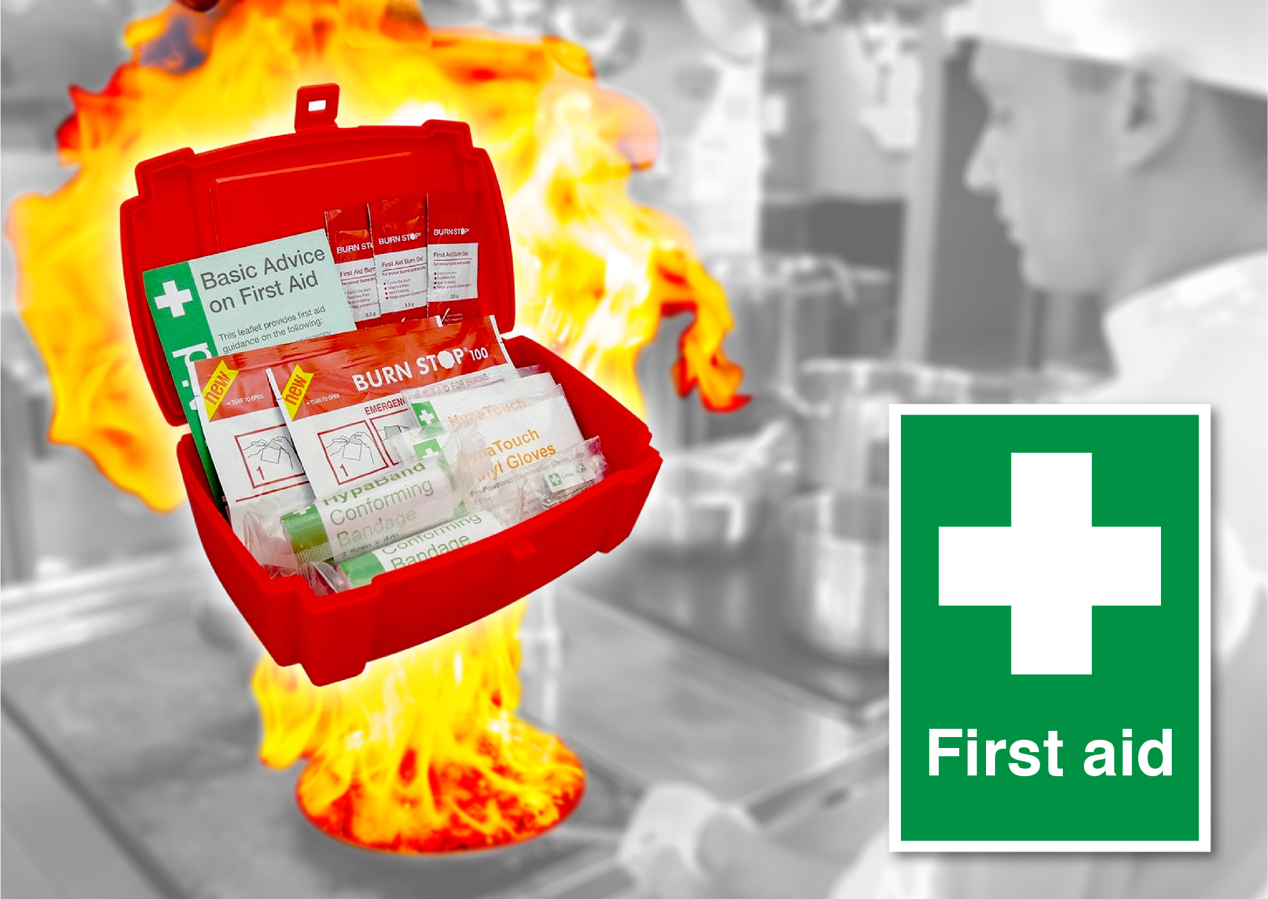Catering First Aid Kits & First Aid Posters