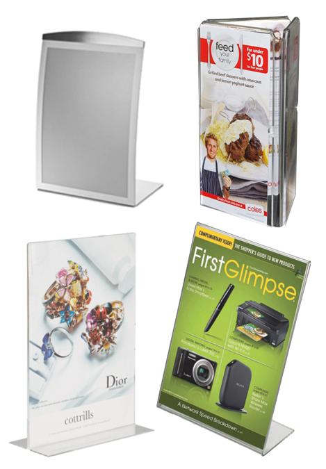 Counter Top Information Displays