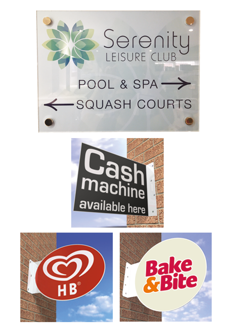 Custom Made Sign Panels