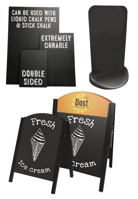 Chalkboard Outdoor Displays