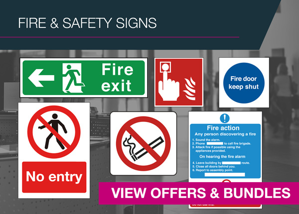 Fire and Safety Signs