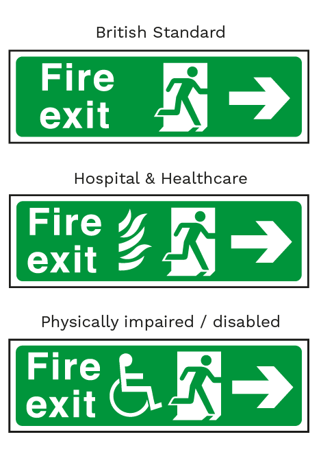 Fire Exit & Fire Escape Signs