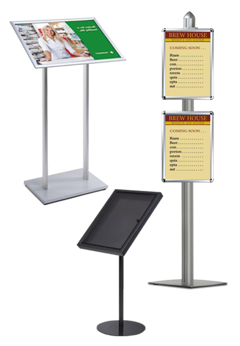 Floor Standing Information Displays