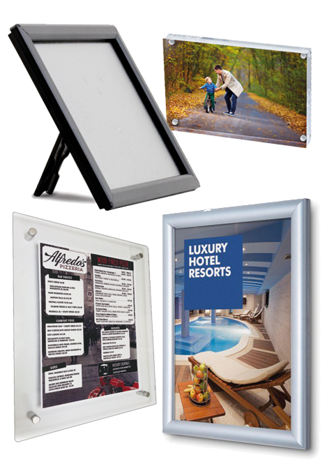 Poster Displays & Snap Frames