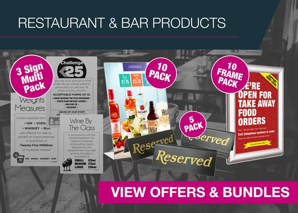 Restaurant & Bar Products