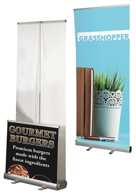 Roller Banners - Pull Up Banners