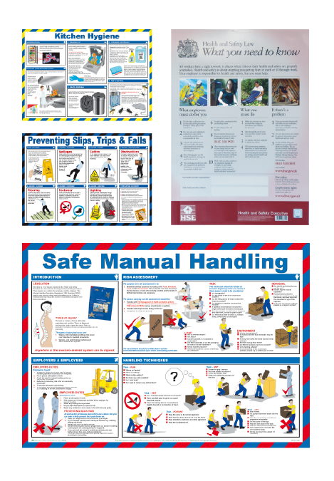 Safety Posters & Wall Charts