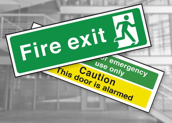 British Standard Fire Exit