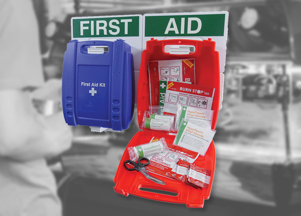 Catering First Aid and Burn Stations