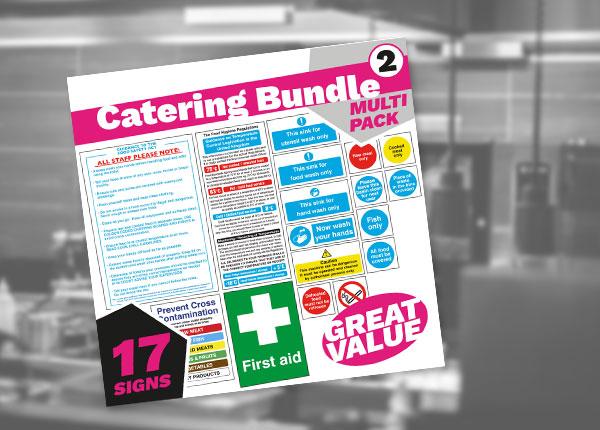 Catering Food Safety Sign Bundles