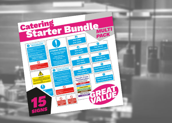 Catering Safety Sign and Poster Bundles
