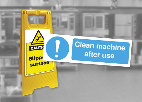 Cleaning Safety Signs