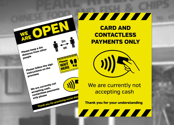 Contactless Payment Notices