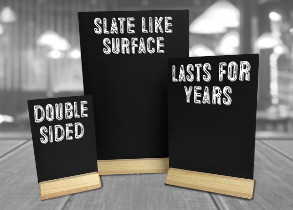 Counter and Tabletop Chalkboards