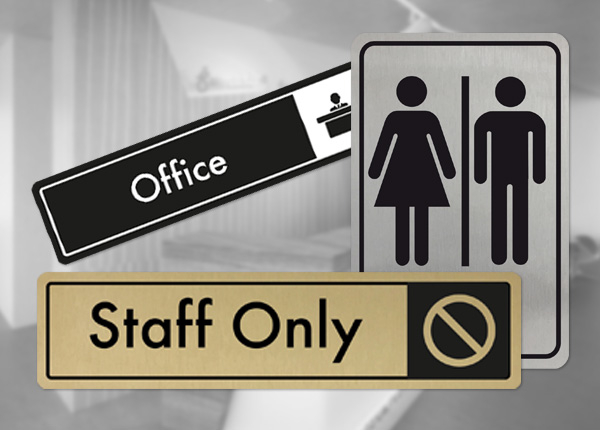 Door and Directional Signs