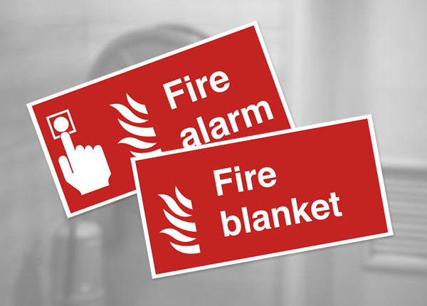 Fire Equipment Safety Signs