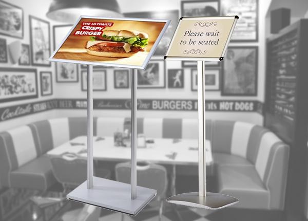 Floor Standing Information Displays