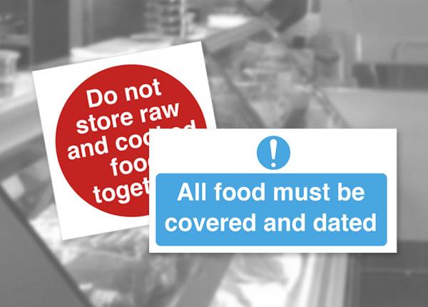Food Storage Safety Notices