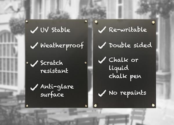 Chalkboard Outdoor Displays