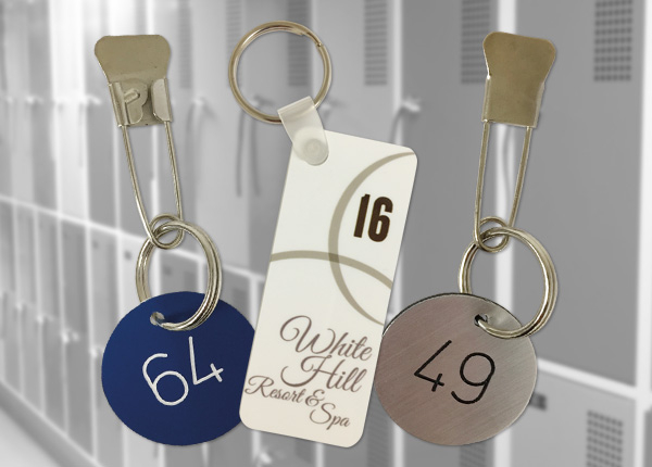 Locker Numbers and Key Fobs