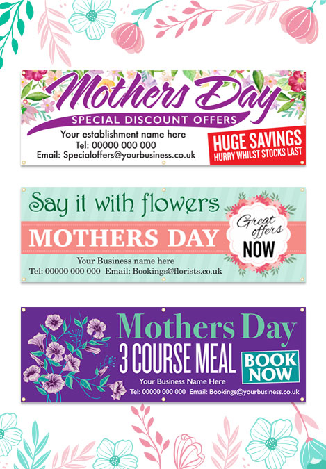 Mothers Day Posters and Banners