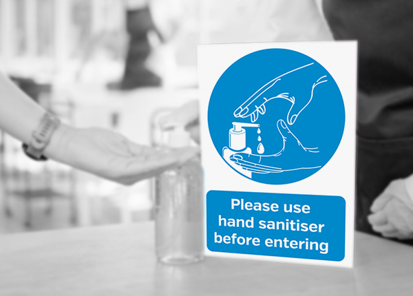 Sanitise Hands Signs & Posters