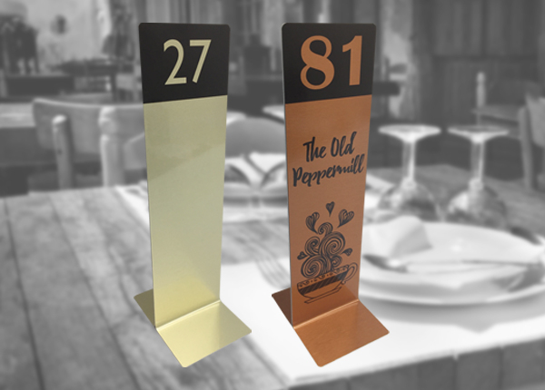 Tall Table Numbers