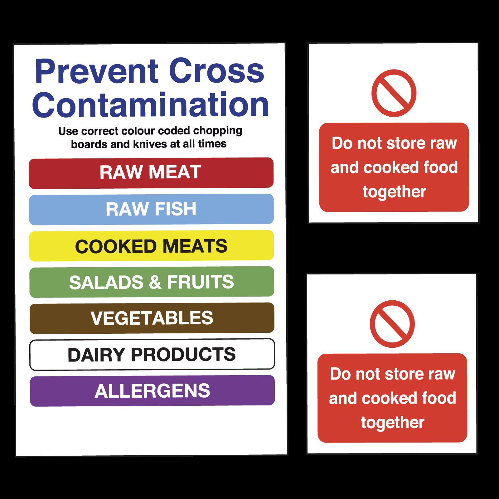 Kitchen Safety Pictures: Kitchen Safety Sign Bundle