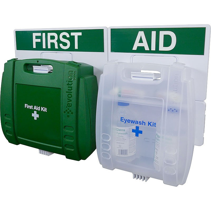 21-50 Persons Eyewash & First Aid Point