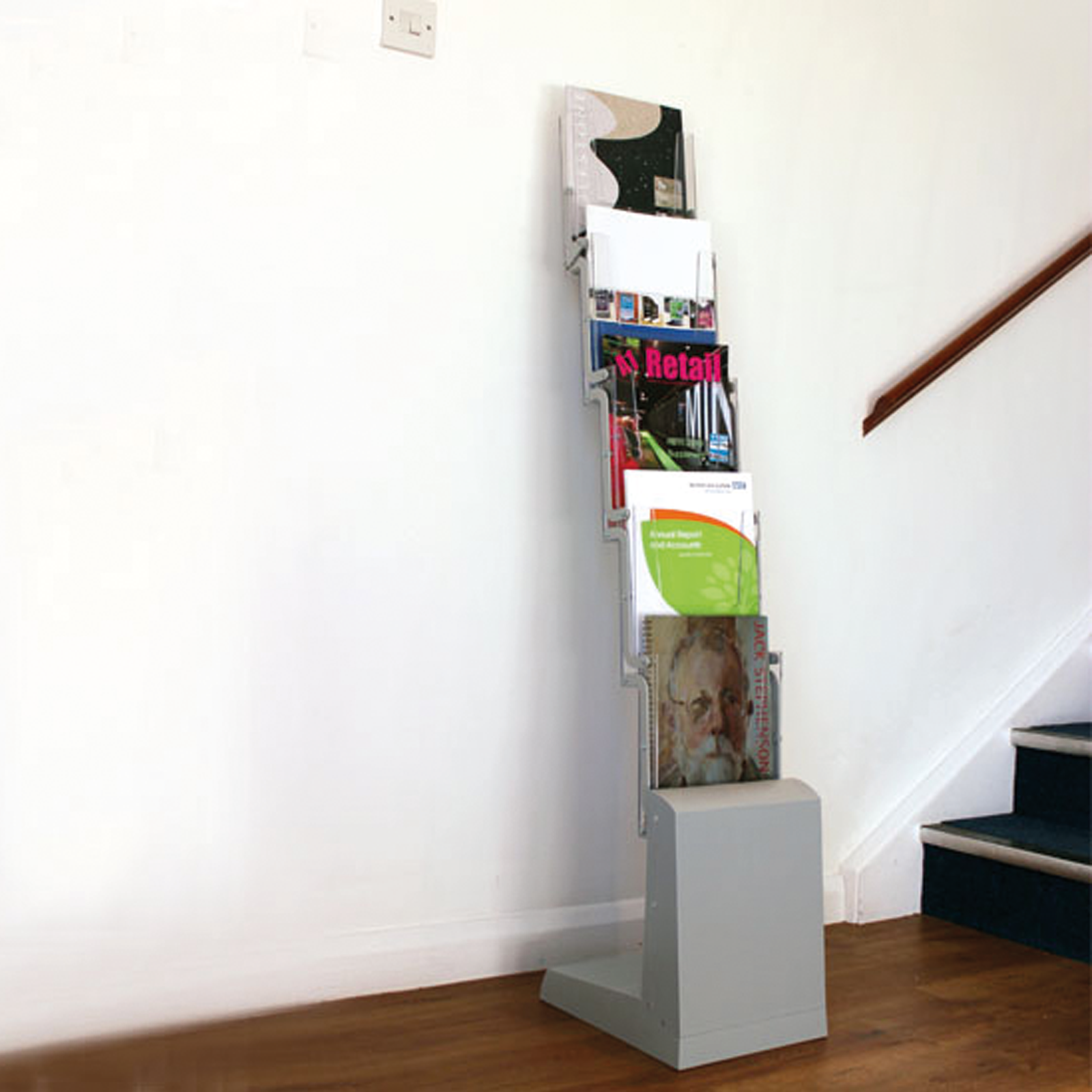 A4 Collapsible Brochure Display Stand