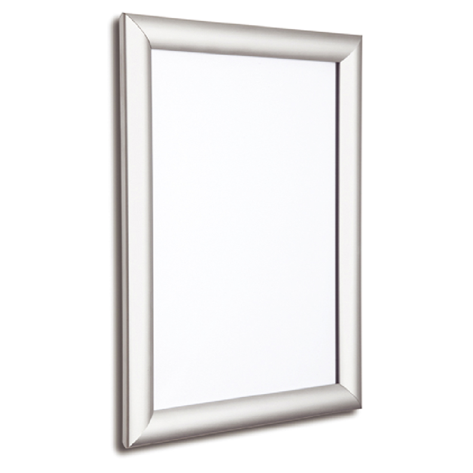 A2 Satin Silver - 25mm Poster Display Snap Frame