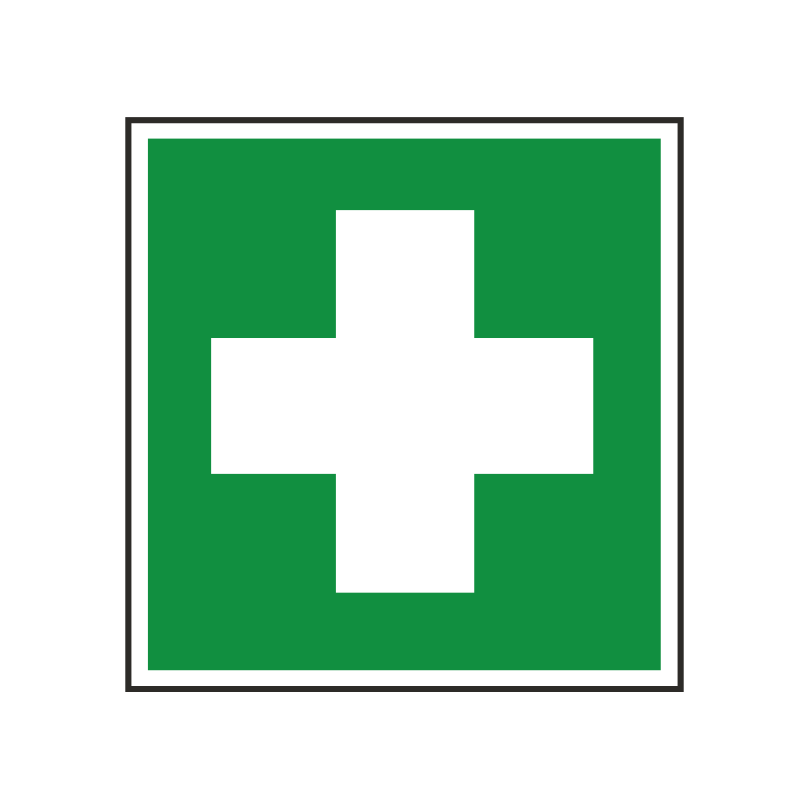 First Aid Symbol Sign