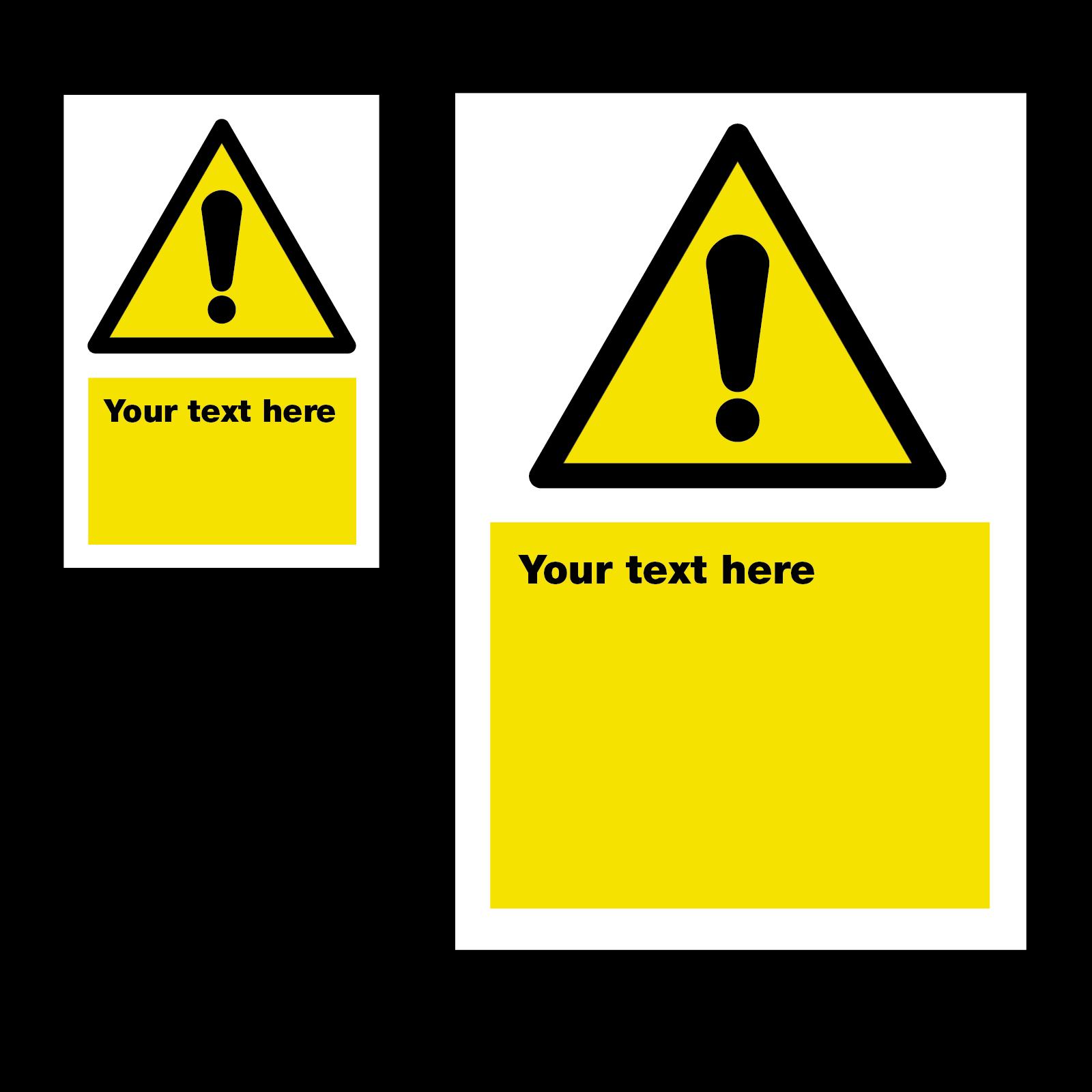 Warning Safety Sign 2