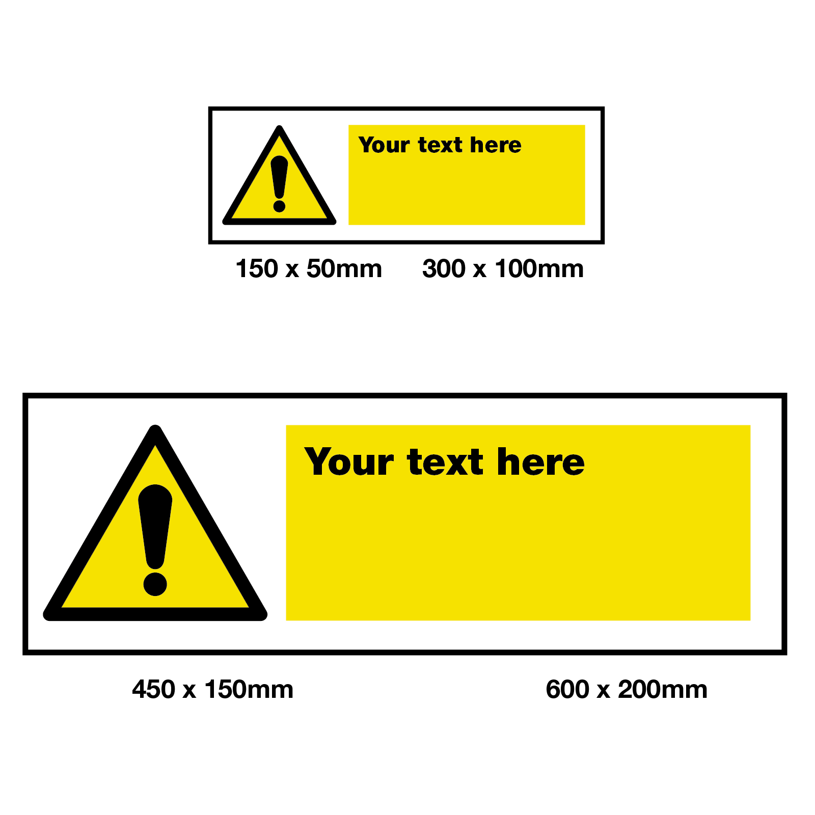 Warning Safety Sign 4