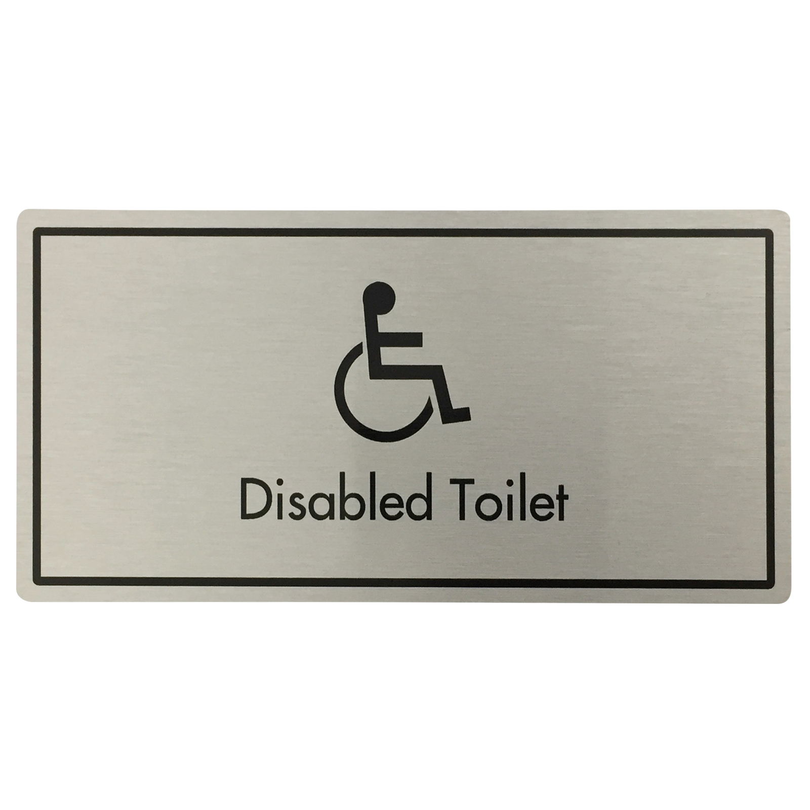 Disabled Toilets Door Sign
