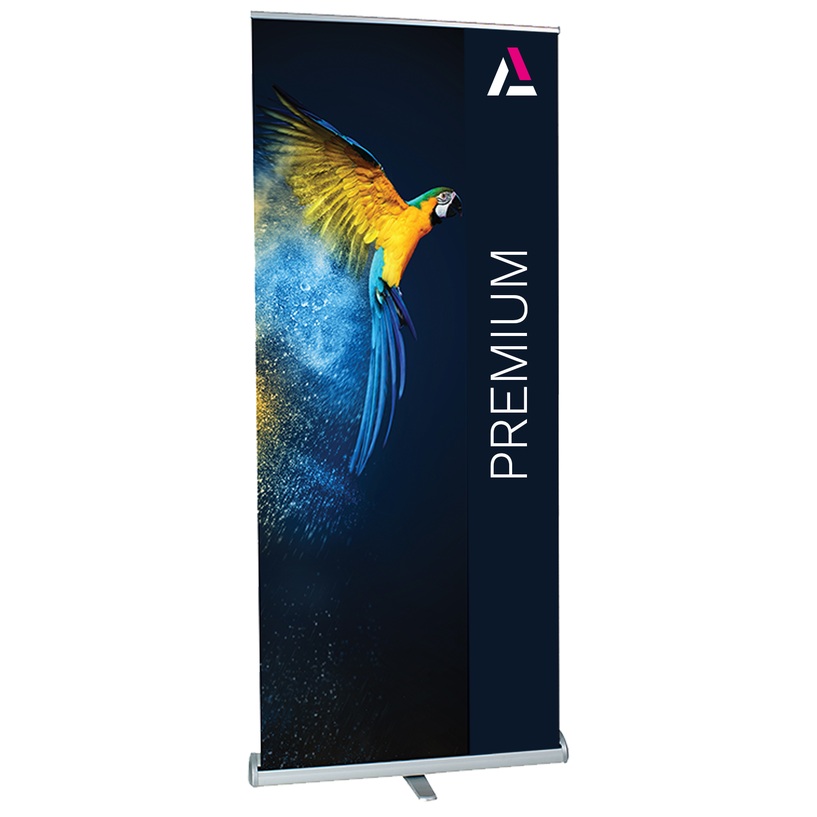 Premium Single Sided Pull Up Roller Banner