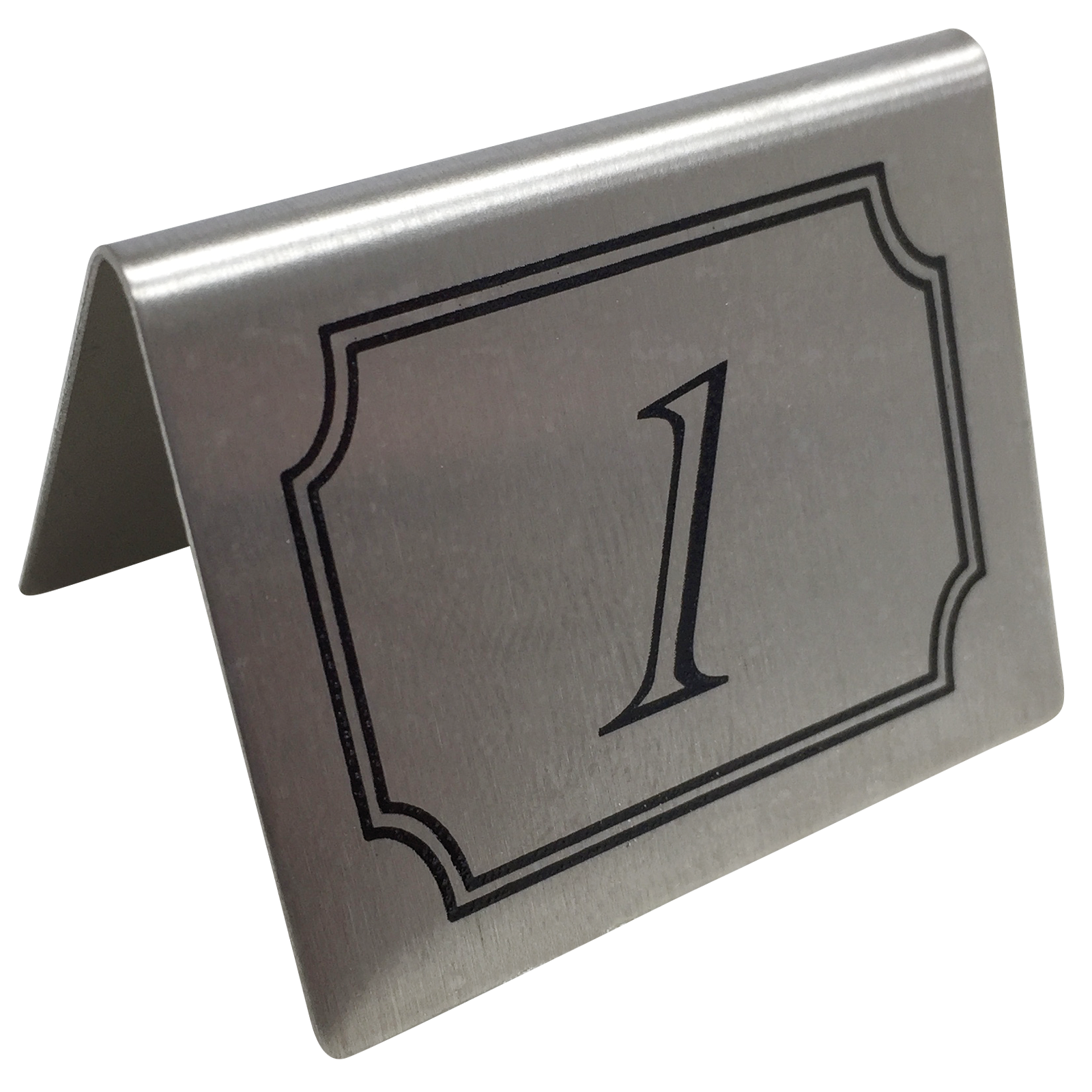 Stainless Steel Table Numbers Set