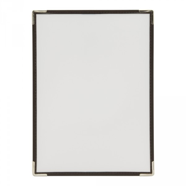 A4 Size Crystal Clear Transparent Single A4 Menu Holders / Covers. Pack of 3