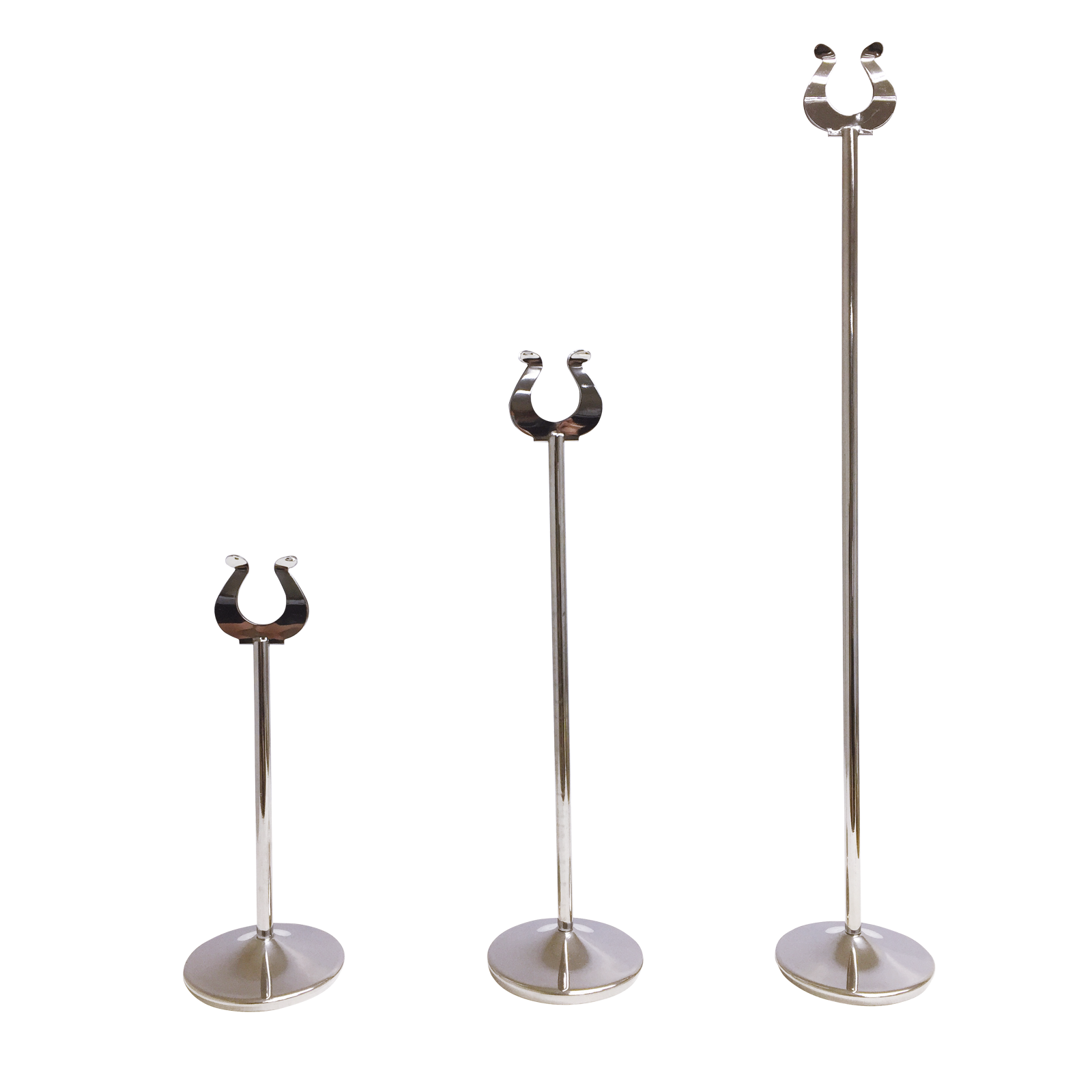 Stainless Steel Table Number Stands Wedding Table Number Stands