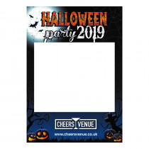 Halloween Party Photo Booth Selfie Frame. A1 Portrait size