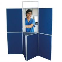 7 Panel with Table Folding Display Kit