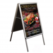 Snapframe A-Board Poster Pavement Display