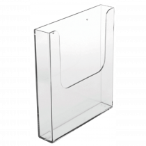 Acrylic Wall Mountable Leaflet / Brochure Dispensers