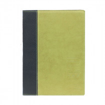 Trendy Green Leather Style A5 Restaurant Menu Holder / Menu Cover