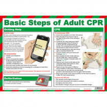 Adult CPR (Resuscitation) Poster