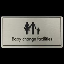 Baby Change Facilities Door Sign