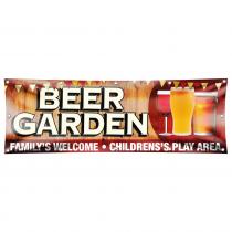 Beer Garden Pub Banner